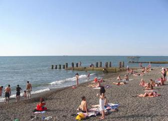 Пляжи в Адлере