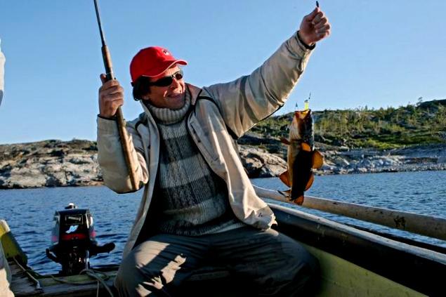 на рыбалку на машине на белое море